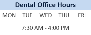 Dental Office Hours